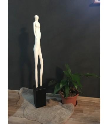Drevená dekorácia - WOMAN
