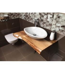 Plate under washbasin