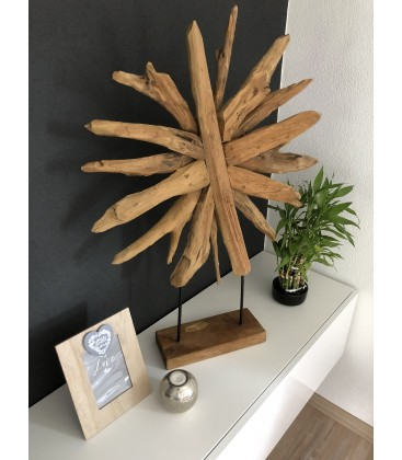 Wooden decor - SUN