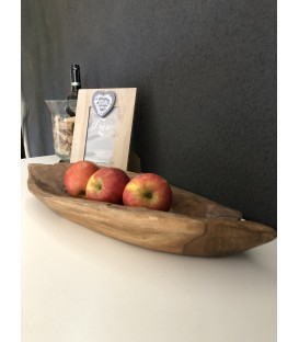 Wooden fruit bowl - TEAK