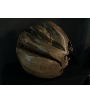 Wooden decoration - BALL