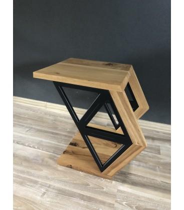 Drevený stolík - TRIANGELS