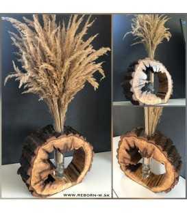 Drevená váza - TRIANGEL