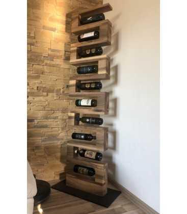 Wine rack - ZIGZAG