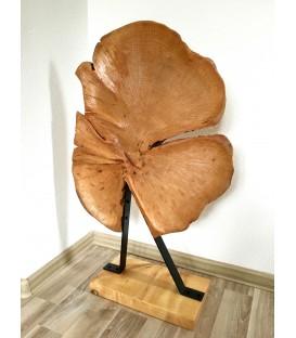Wooden decor - TREFOIL