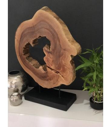 Drevená dekorácia - EYE TEAK