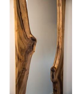 Zrkadlo s dreveným rámom - VERTICAL