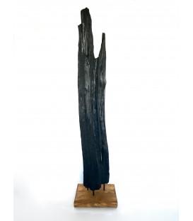 Wooden decor - BROWNIE