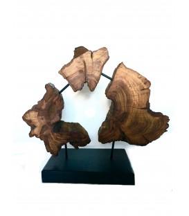 Wooden decor- WALNUT